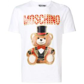 Moschino テディベア Tシャツ - 1001 White