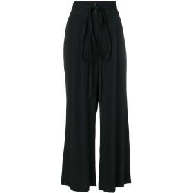 Marc Jacobs シルクワイドパンツ - ブラック