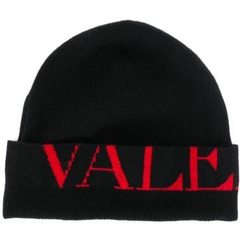 Valentino ロゴ ビーニー - ブラック