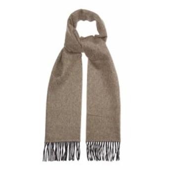 ランバン Lanvin メンズ マフラー・スカーフ・ストール Two-tone cashmere scarf Grey