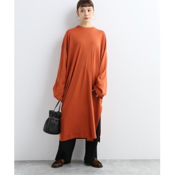 JOURNAL STANDARD 【CAN PEP REY/キャン ペプレイ】 LOOSE DRESS L/S PIACEIBA:ワンピース オレンジ B S