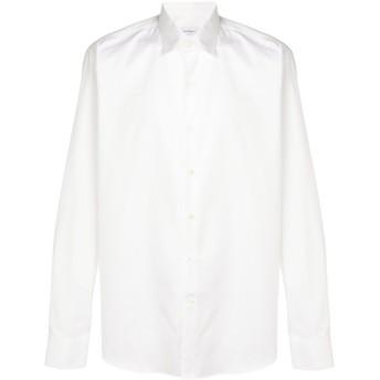 Salvatore Ferragamo ロゴプリント シャツ - ホワイト