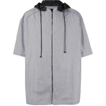 Juun.J ストライプ シャツ - ホワイト