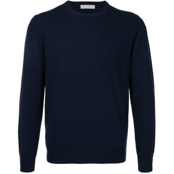 Gieves & Hawkes クルーネック セーター - ブルー