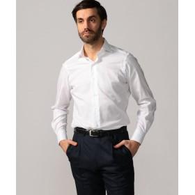 トゥモローランド 120/2コットンロイヤルオックスフォード ワイドカラー ドレスシャツ NEW WIDE 5 メンズ 11ホワイト 42 【TOMORROWLAND】