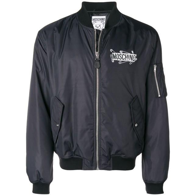 Moschino ボンバージャケット - ブラック