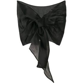 Le Petite Robe Di Chiara Boni シアー スカーフ - ブラック