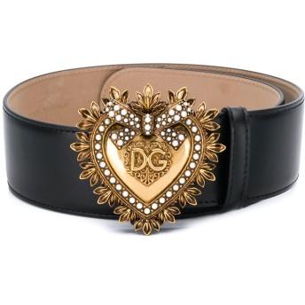 Dolce & Gabbana Devotion バックルベルト - ブラック