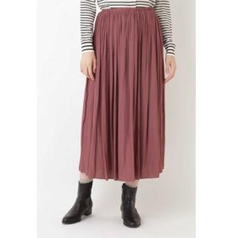 【HUMAN WOMAN:スカート】《arrive paris》ギャザースカート
