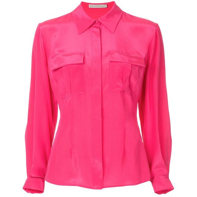 Mary Katrantzou シルクシャツ - ピンク