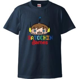 SATOCHIN games(5.6オンス ハイクオリティー Tシャツ)(カラー : インディゴ, サイズ : XL)