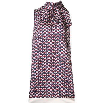 Valentino ロゴ ドレス - ブルー