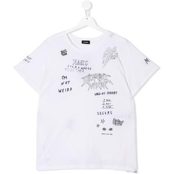Diesel Kids プリント Tシャツ - ホワイト
