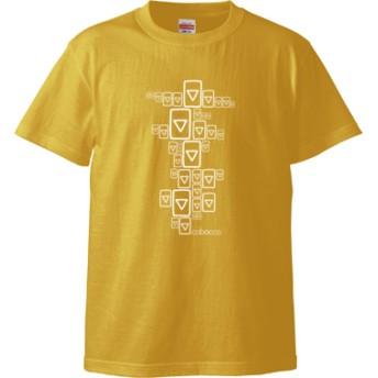 三角マン Tシャツ(カラー : バナナ, サイズ : L)