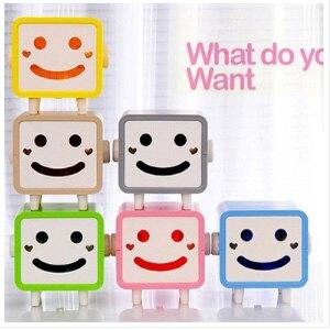 美麗大街【BF114E21E852】可愛笑臉表情 紙巾盒 面紙套