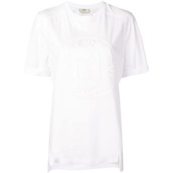 Fendi ロゴ Tシャツ - ホワイト