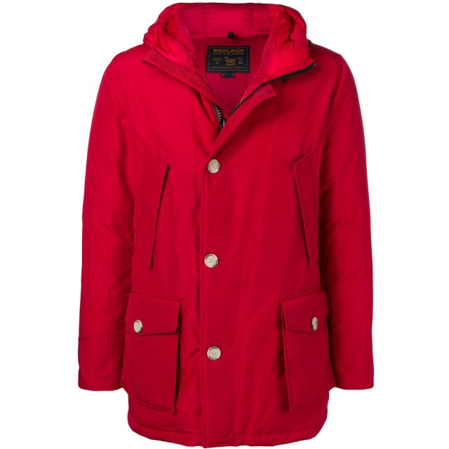 Woolrich Storm パーカーコート - レッド