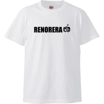 RENORERA TV_b(5.6オンス ハイクオリティー Tシャツ)(カラー : ホワイト, サイズ : L)