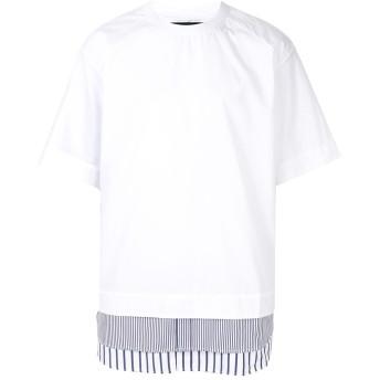 Juun.J レイヤードヘム Tシャツ - ホワイト