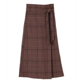 [マルイ]【セール】フェイクラップAラインスカート/ティティベイト(titivate)