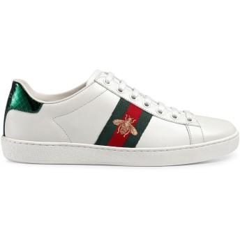 Gucci エース スニーカー - ホワイト