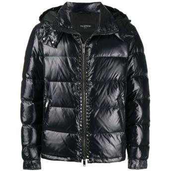 Valentino Rockstud パデッドコート - ブラック