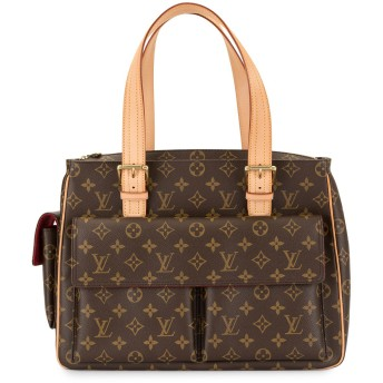 Louis Vuitton Pre-Owned ショルダーバッグ - ブラウン