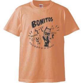 BONITOS TV モノクロ Tシャツ(カラー : アプリコット, サイズ : M)