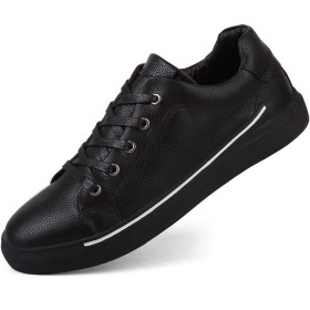 [パルクール] ファッションメンズランニングシューズレジャースポーツシューズ通気性スニーカー 26cm 黒