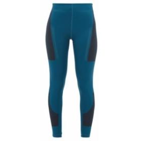 アディダス Adidas By Stella McCartney レディース スパッツ・レギンス インナー・下着 Fitsense+ technical leggings Turquoise blue