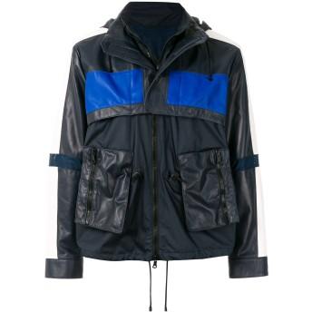 Valentino フーデッド ジャケット - ブルー