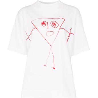 Plan C プリント Tシャツ - ホワイト