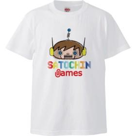 SATOCHIN games(5.6オンス ハイクオリティー Tシャツ)(カラー : ホワイト, サイズ : XL)