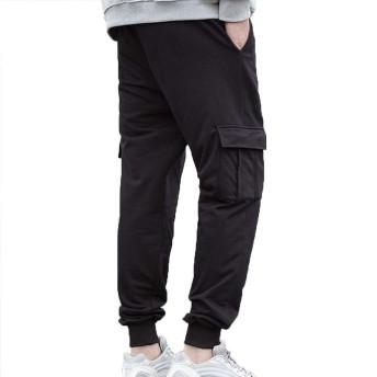 [美しいです]カーゴパンツ メンズ チノパン カジュアル ズボン ワークパンツ ロングパンツ 写真色E3XL