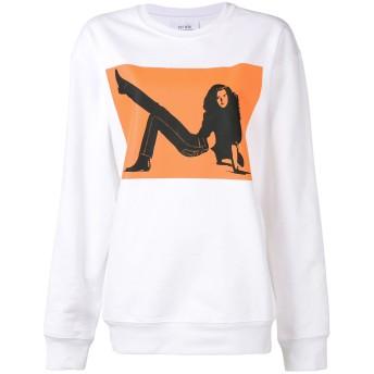 Calvin Klein Jeans Est. 1978 Brooke Shields スウェットシャツ - ホワイト
