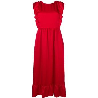 Red Valentino クロスバック ドレス - レッド