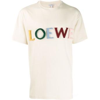 Loewe ロゴアップリケ Tシャツ - ニュートラル