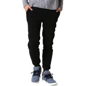 (アーケード) ARCADE ジョガーパンツ メンズ 細身 スキニ― 暖かい 裏起毛 スウェットパンツ M ブラック
