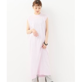 (Spick & Span/スピック&スパン)【ATON】 CREWNECK LONG DRESS◆/レディース ピンク