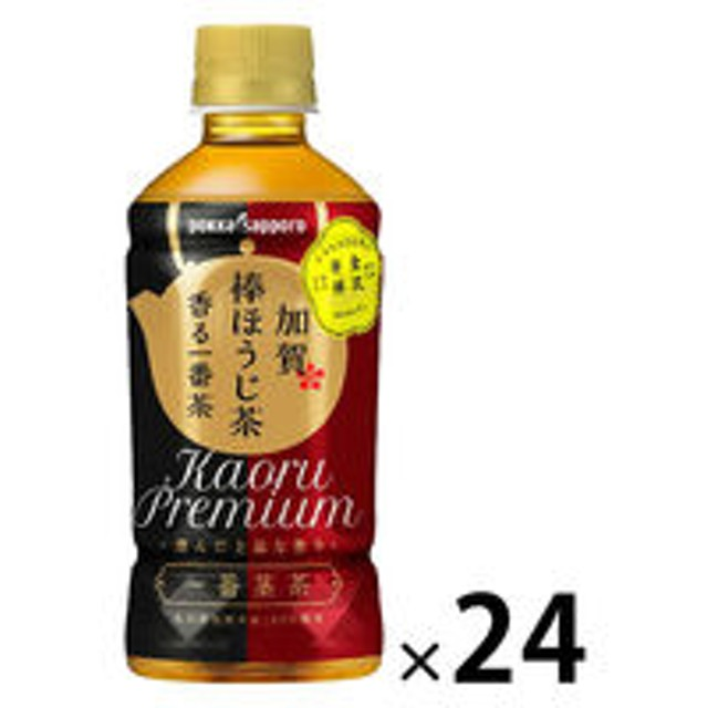 ポッカサッポロ 加賀棒ほうじ茶 香る一番茶 345ml 1箱(24本入)