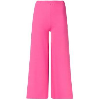 Moschino クロップド フレアパンツ - ピンク