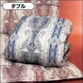 羽毛掛け布団 【ダブルサイズ】 国産ホワイトダックダウン85% 日本製 ピンク 白  送料無料
