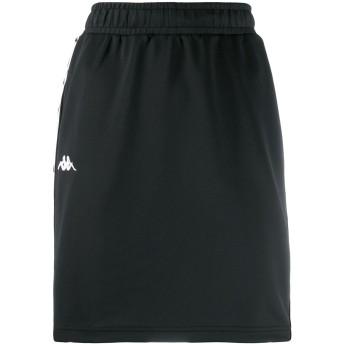 Kappa ロゴ マキシスカート - ブラック