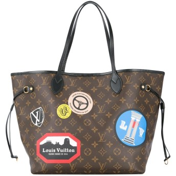 Louis Vuitton Pre-Owned Neverfull MM ショルダーバッグ - ブラウン