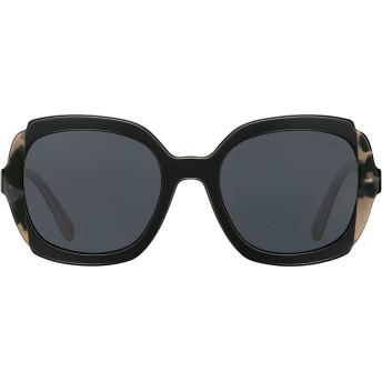 Prada Eyewear スクエア サングラス - ブラック
