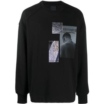 Juun.J グラフィック スウェットシャツ - ブラック