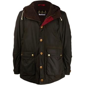 Barbour Game パーカーコート - ブラウン