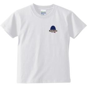 Satohiro Tシャツ(キッズサイズ)(カラー : ホワイト, サイズ : 110)