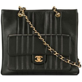 Chanel Pre-Owned Mademoiselle ショルダーバッグ - ブラック