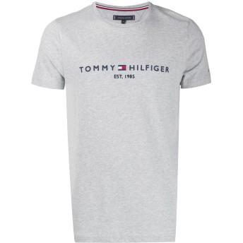 Tommy Hilfiger エンブロイダリーロゴ Tシャツ - グレー